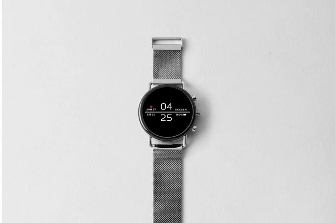 Skagen Falster 2: Heart-rate tracking. Easy payments. Swimproof design.