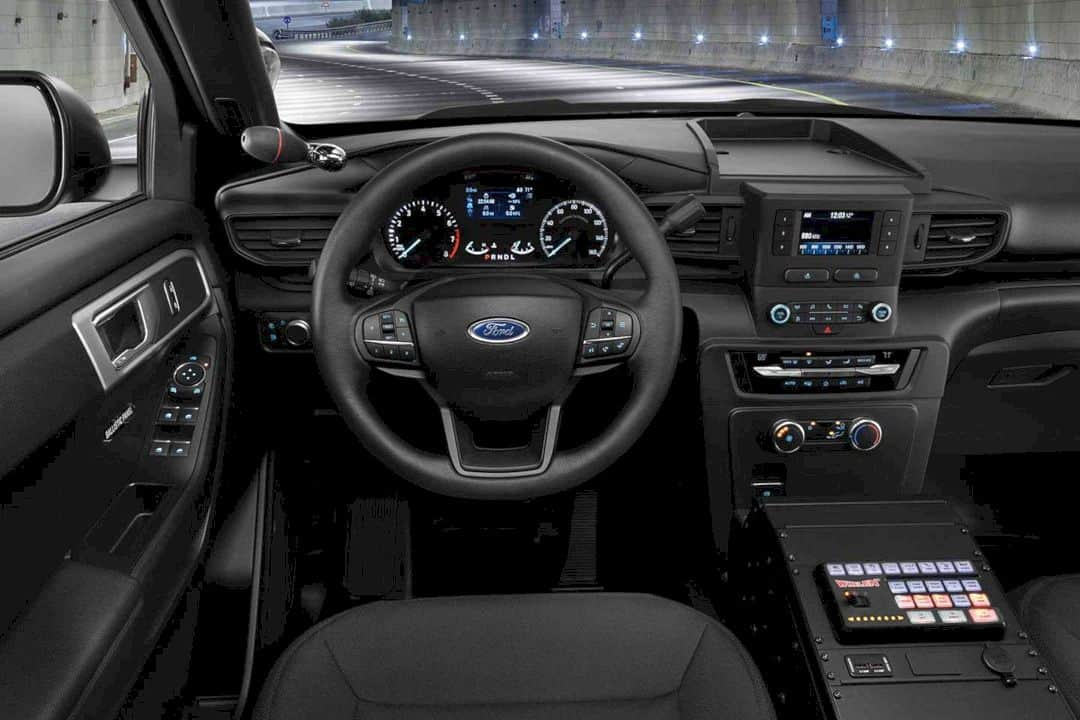 The All New 2020 Ford Police Interceptor Utility 11