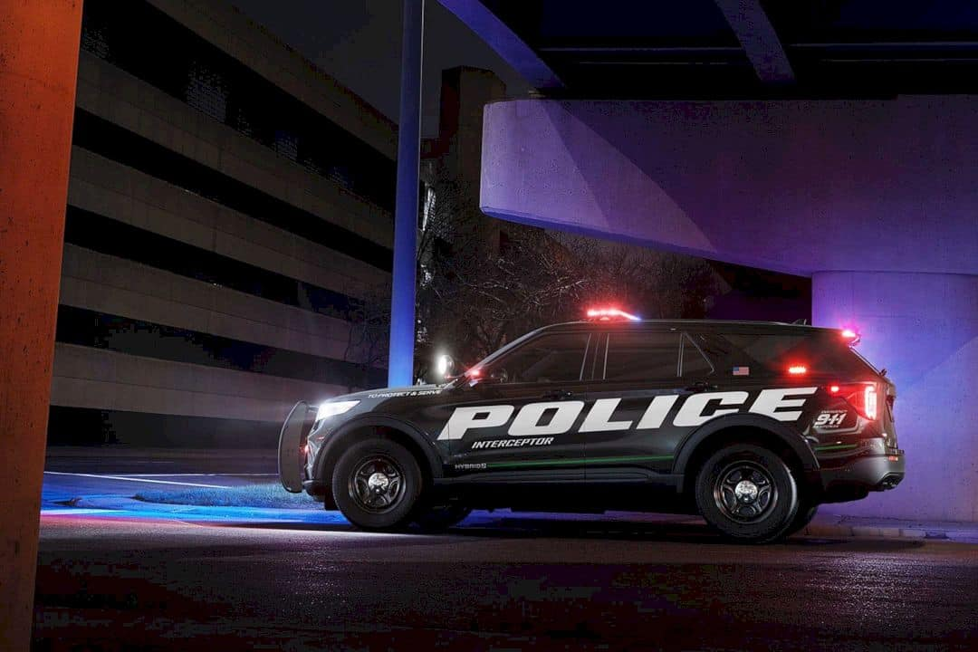 The All New 2020 Ford Police Interceptor Utility 4