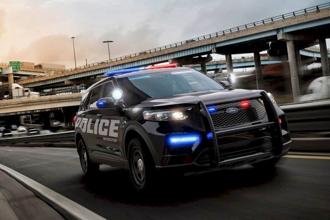 The All New 2020 Ford Police Interceptor Utility 7