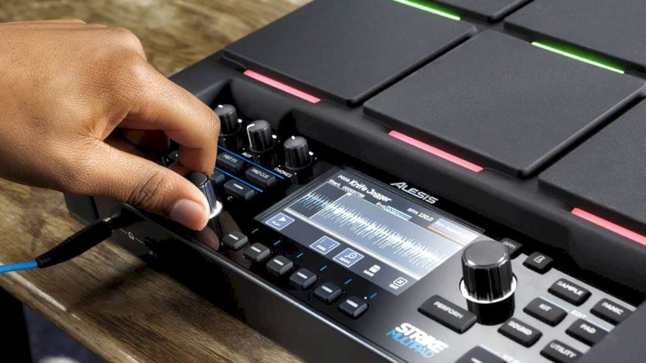 Alesis Strike MultiPad: Sample. Edit. Loop. Perform.