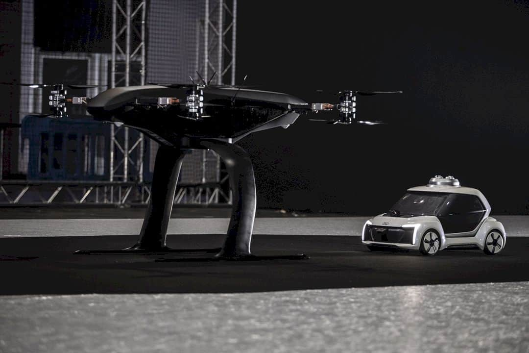 Audi Flying Taxi Concept 1