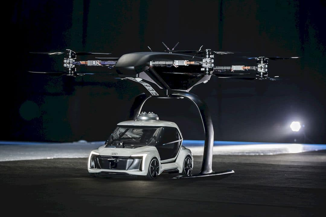 "Audi Flying Taxi Concept: ""Pop.Up Next"""