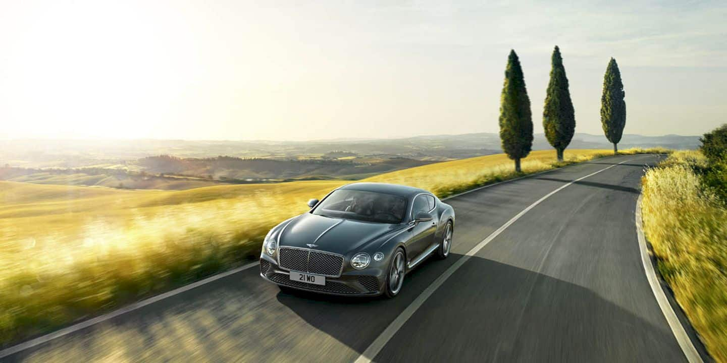 Bentley New Continental Gt 9