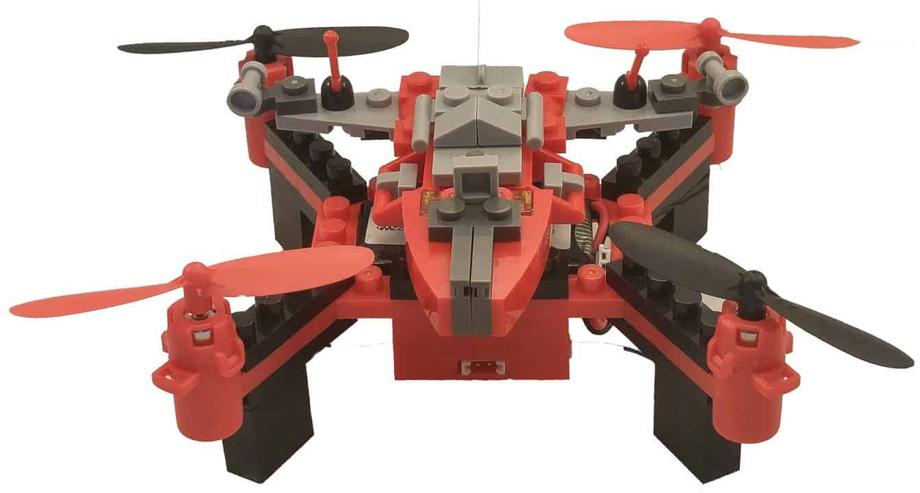 Force Flyers Takes Drone Into Another Level with DIY Building Block Fly n Drive Space Racer Drone