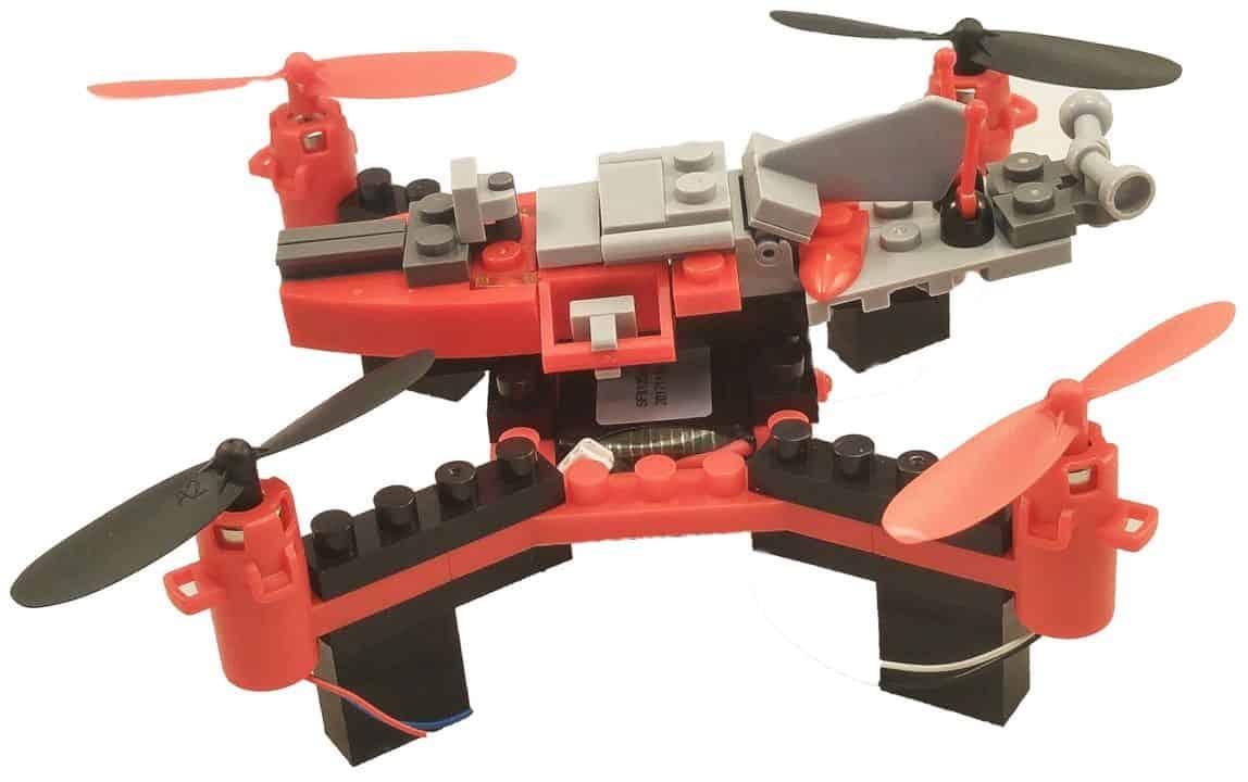 Diy Building Block Fly N Drive Space Racer Drone 4