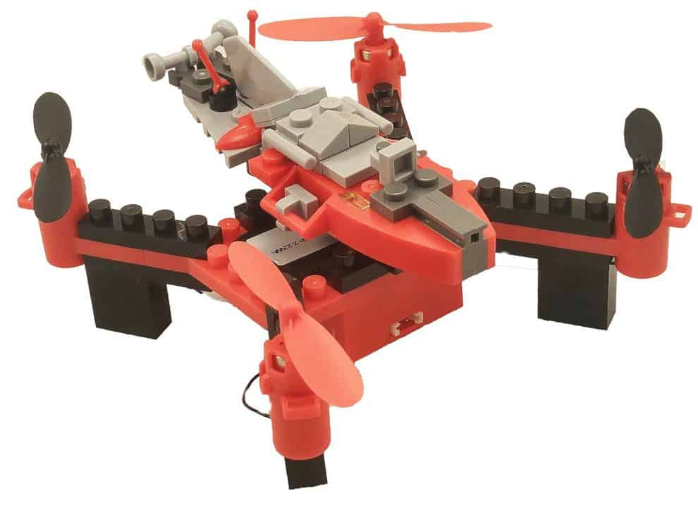 Diy Building Block Fly N Drive Space Racer Drone 5