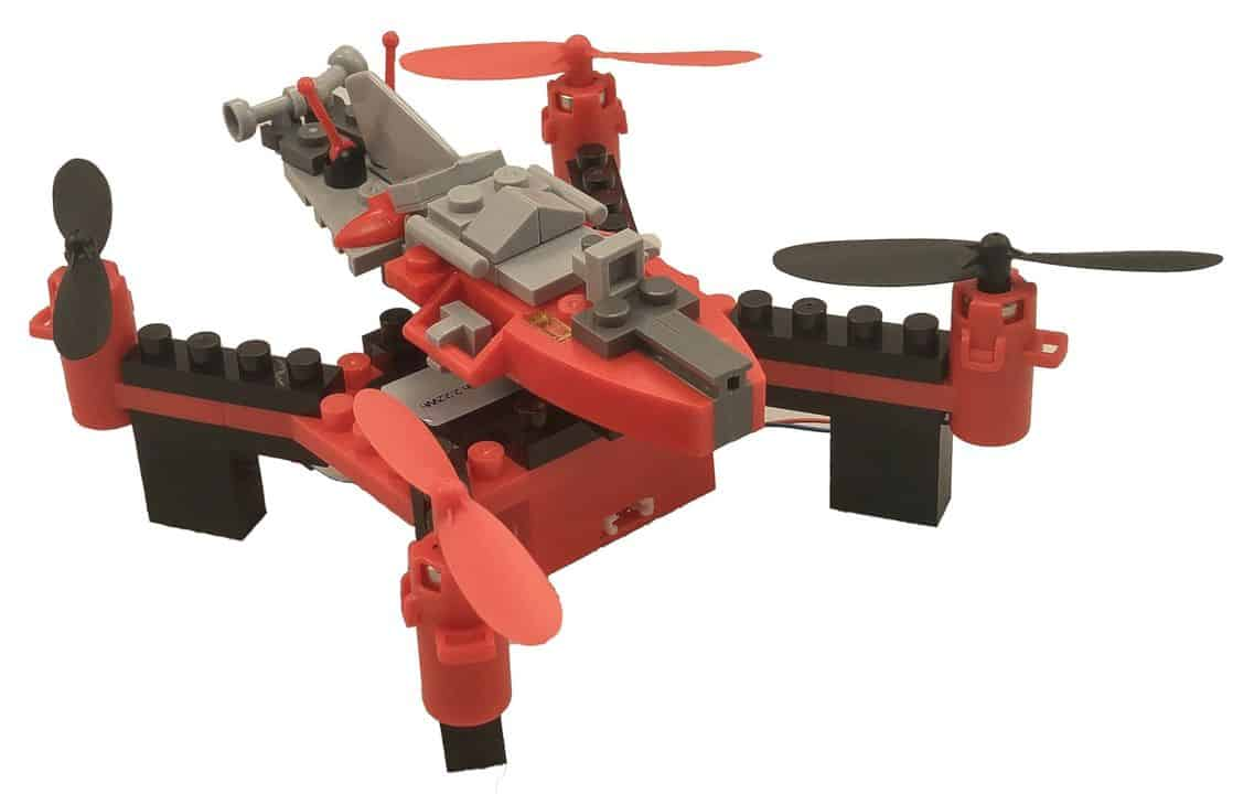 Diy Building Block Fly N Drive Space Racer Drone 6