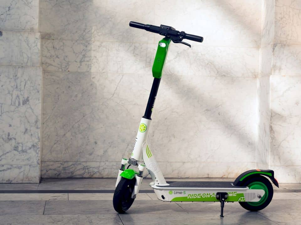 Lime Gen 3 Electric Scooter 1