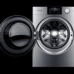 Panasonic x Studio F. A. Porsche ALPHA: new standards of washing machine with purist design and innovative technical functions