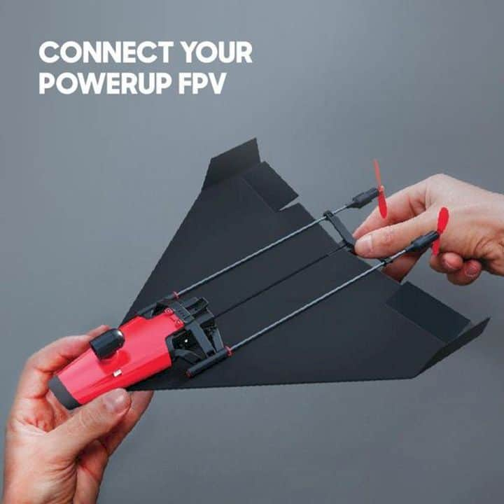 Powerup X Fpv Video Paper Airplane Kit 8