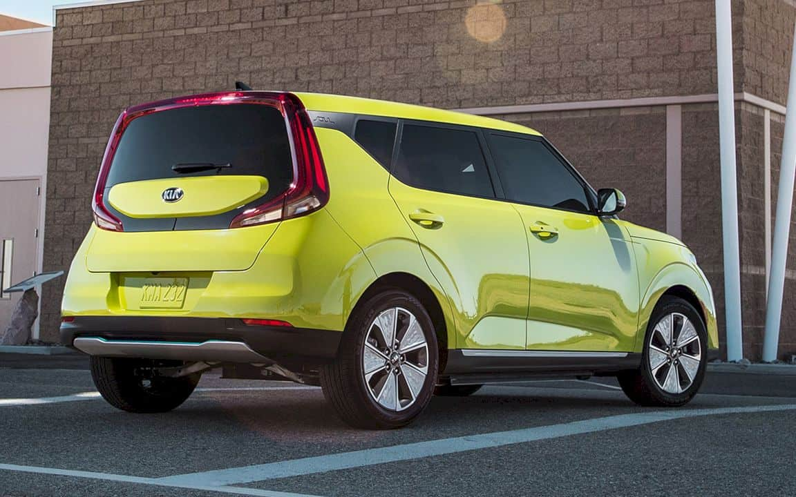 All New 2020 Kia Soul Ev 8