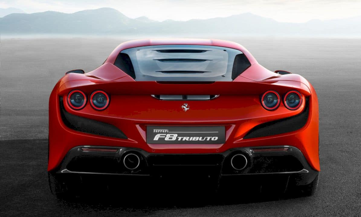 Ferrari F8 Tributo: Sexy and Passion