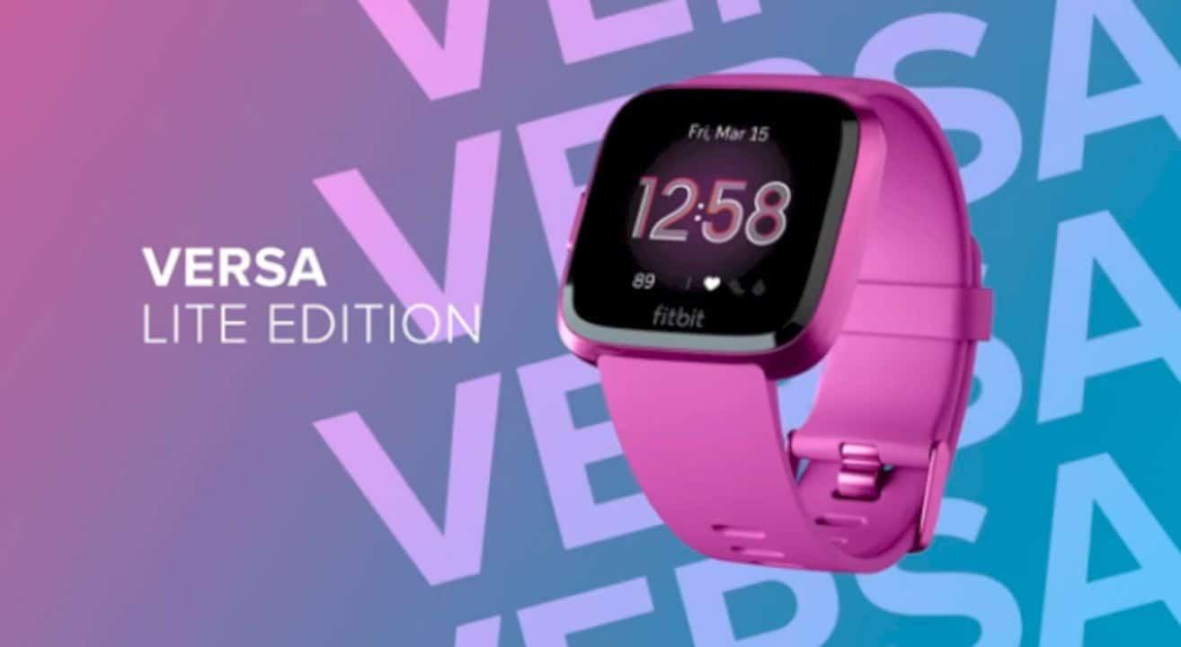 Fitbit Versa Lite Edition 5