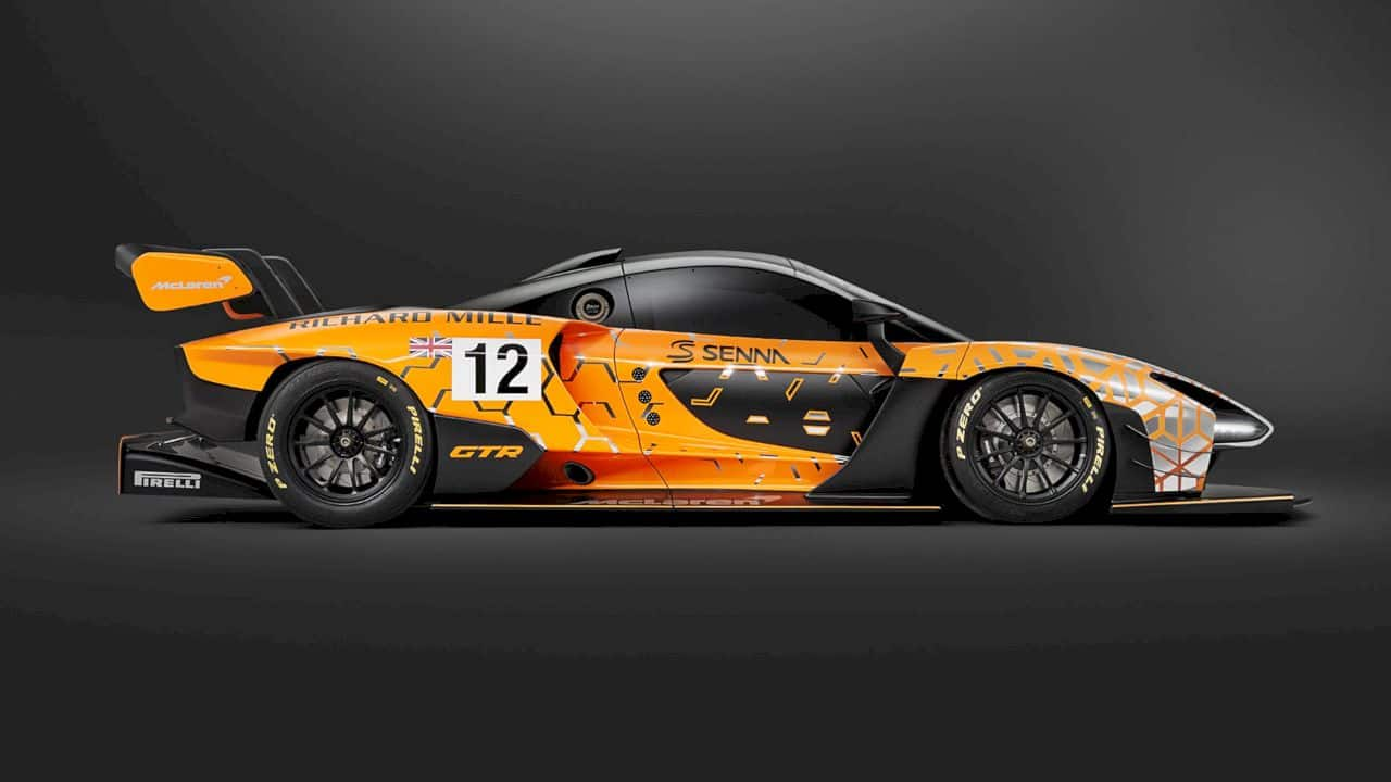 McLaren Senna GTR Concept: Freed from the need to comply!