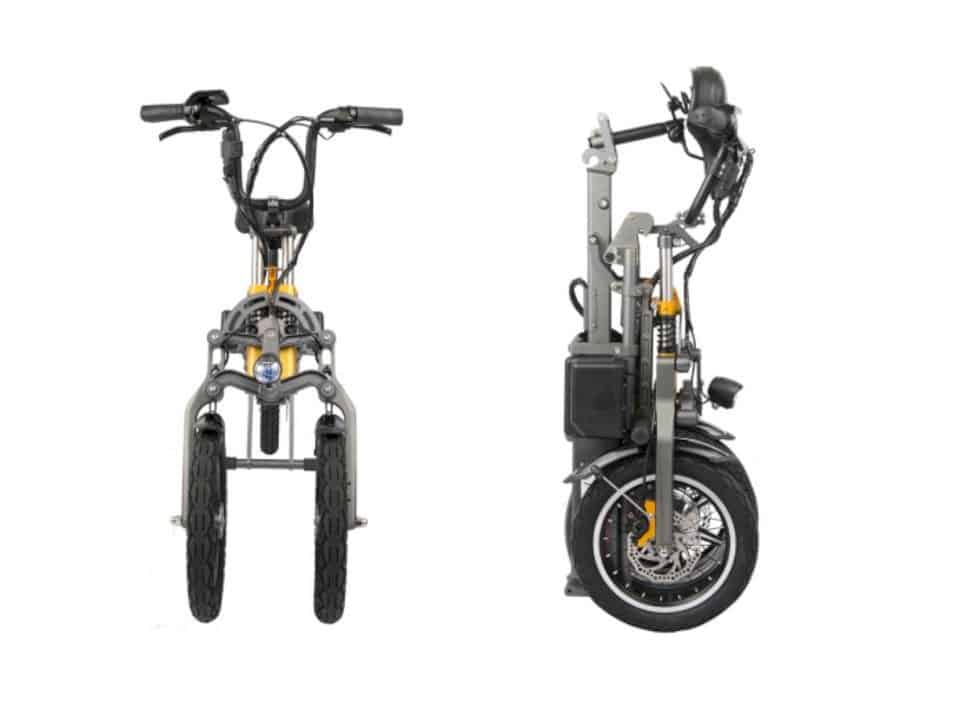 Mylo Electric Scooter: an ultra compact and manageable scooter you can store almost anywhere.