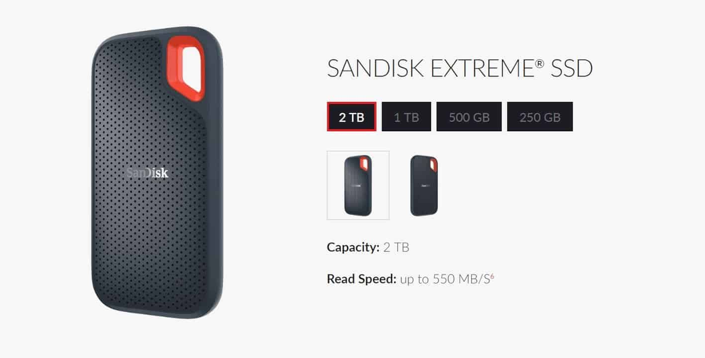 Sandisk Extreme Portable Ssd 1