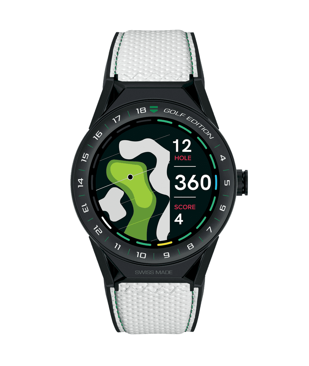 Tag Heuer Connected Modular Golf Edition: A special edition to improve your game on golf courses around the world.