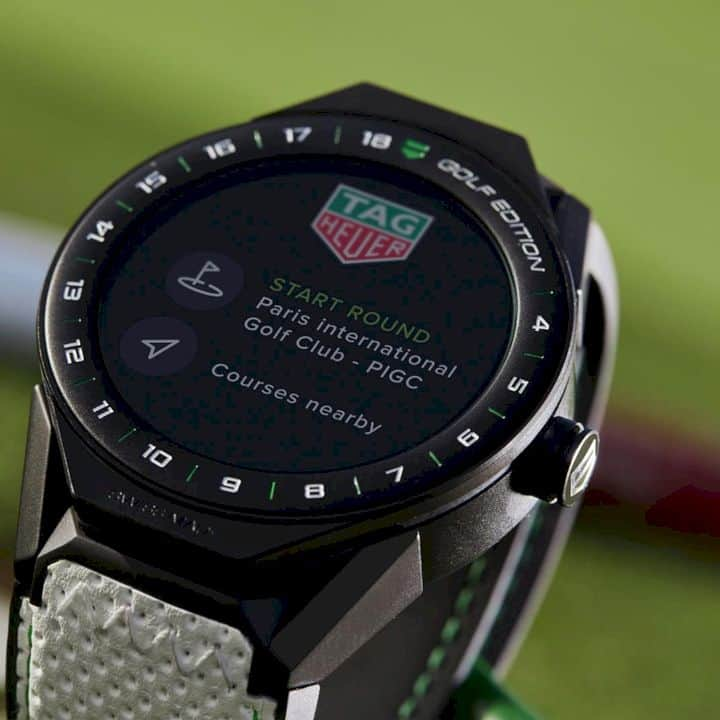 Tag Heuer Connected Modular Golf Edition 3