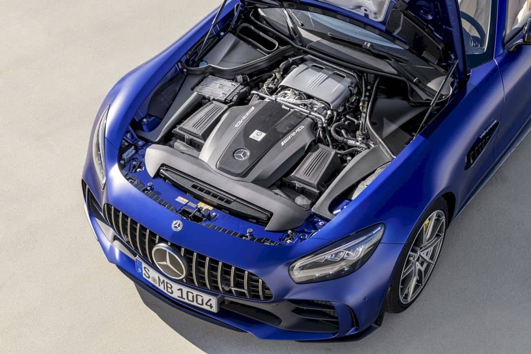 The New Mercedes Amg Gt R Roadster 1