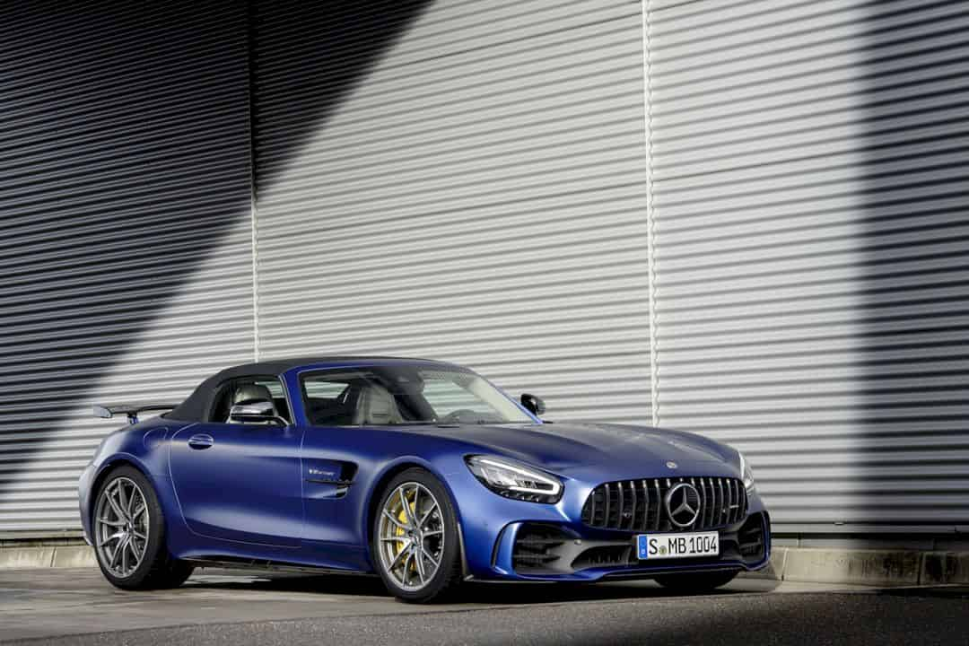 The New Mercedes Amg Gt R Roadster 12