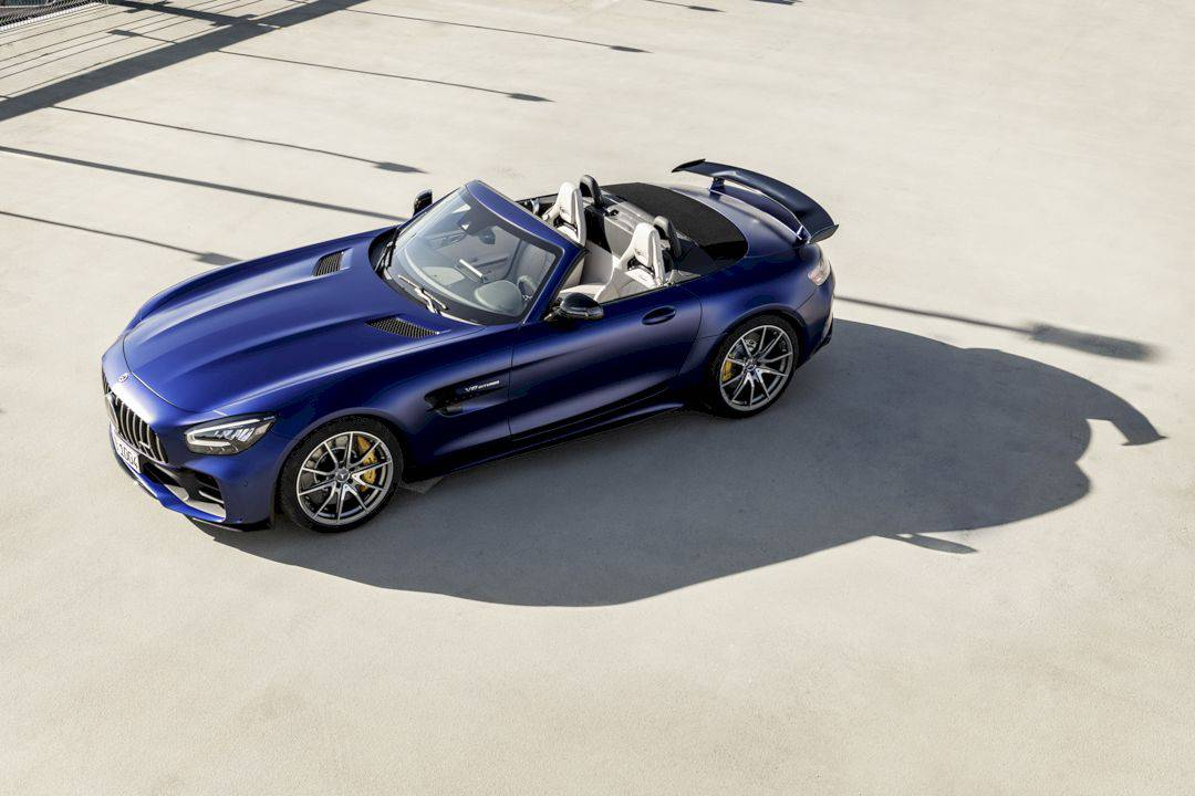 The New Mercedes Amg Gt R Roadster 14