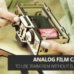 Woodsum Pinhole Camera: DIY Wooden High Quality Camera