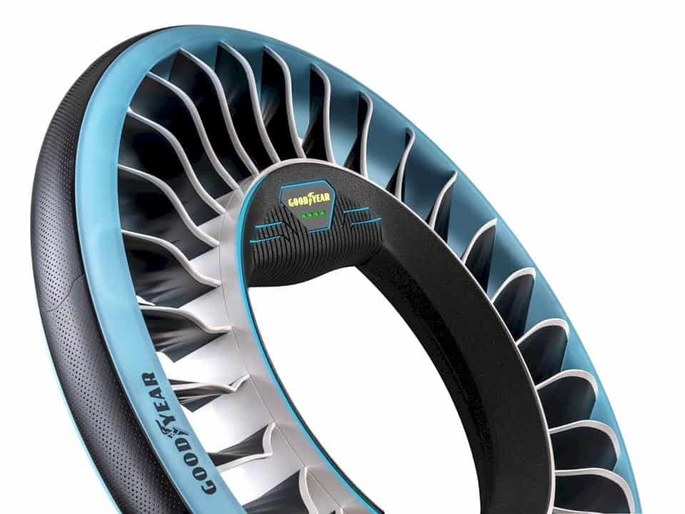 Goodyear AERO: A Concept Tire for Autonomous, Flying Cars