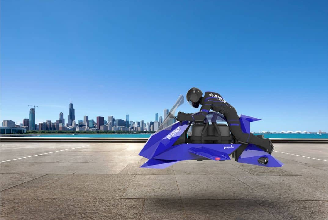 Jetpack Aviation The Speeder 1