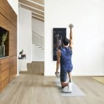 Mirror: The Nearly Invisible Interactive Home Gym