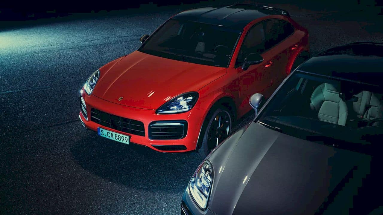 New Cayenne Coupé Models 14