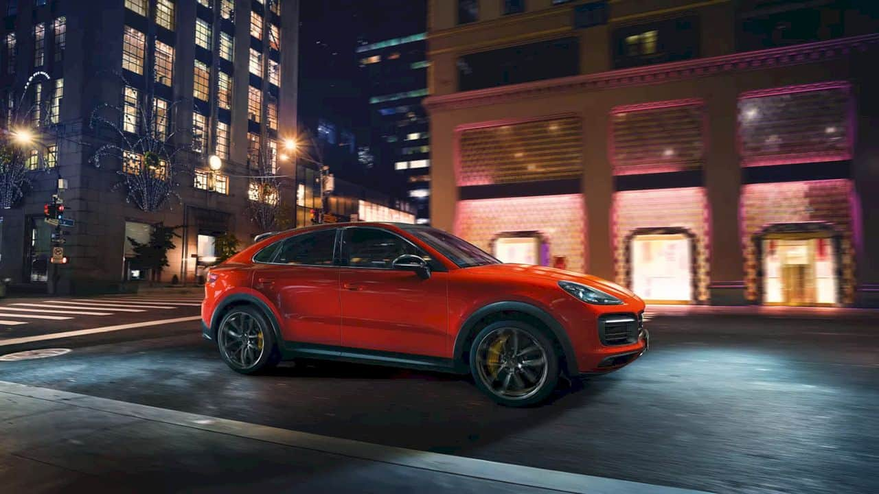 New Cayenne Coupé Models 4