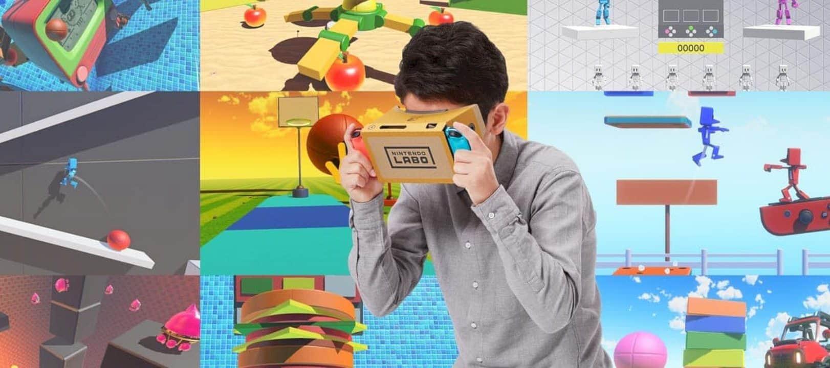 Nintendo Labo Vr Kit 5