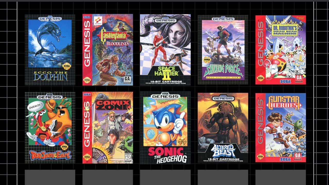 Sega Genesis Mini 11