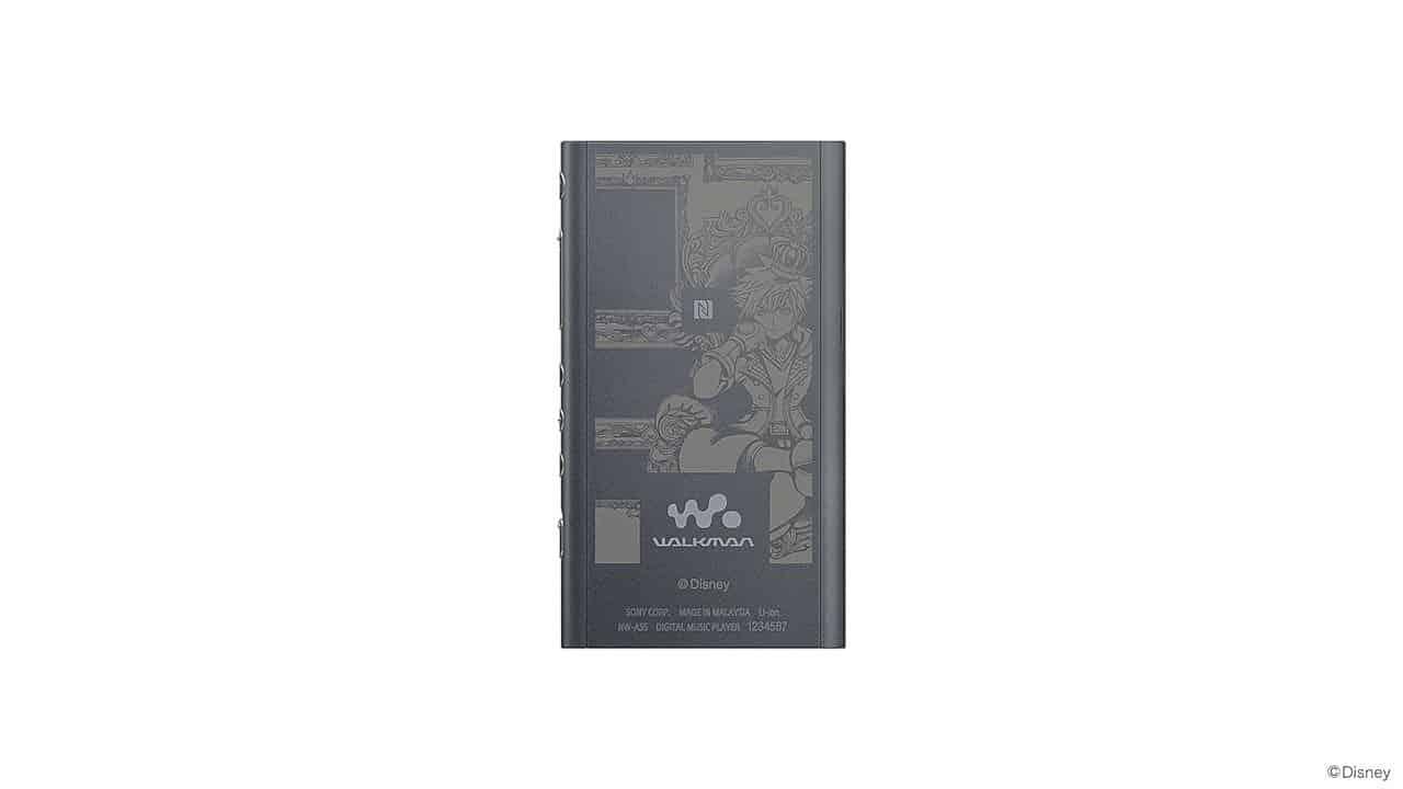 Sony Kingdom Hearts Edition Walkman And Headphones 5