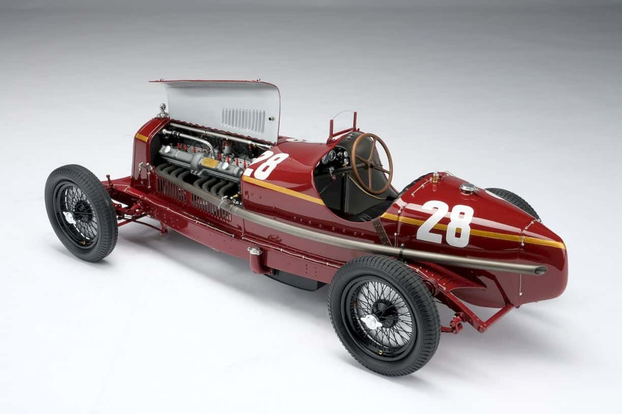Alfa Romeo 2300 8c Monaco Gp Model Car 1