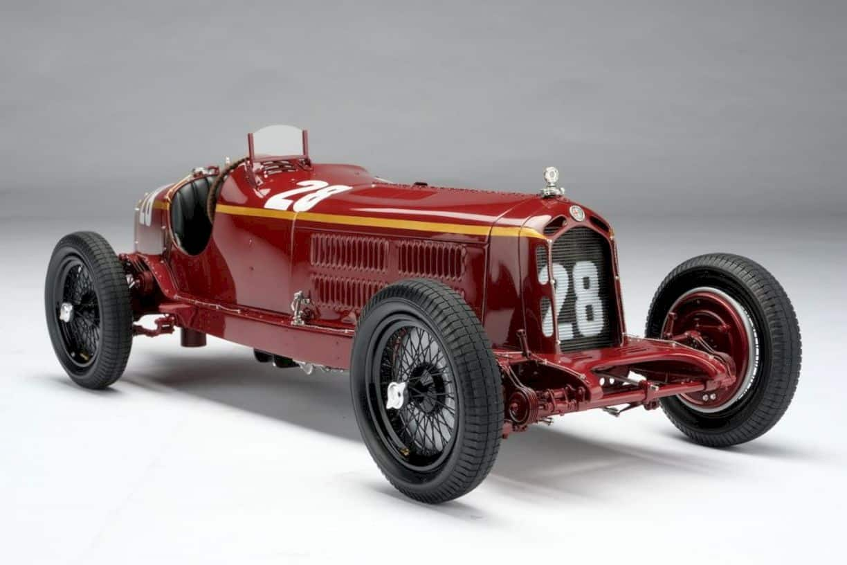 Alfa Romeo 2300 8c Monaco Gp Model Car 2