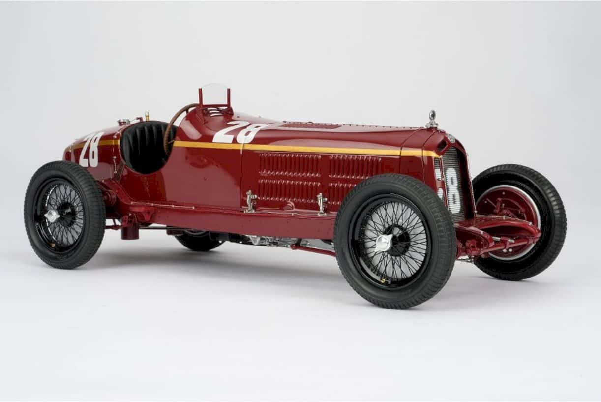 Alfa Romeo 2300 8c Monaco Gp Model Car 3