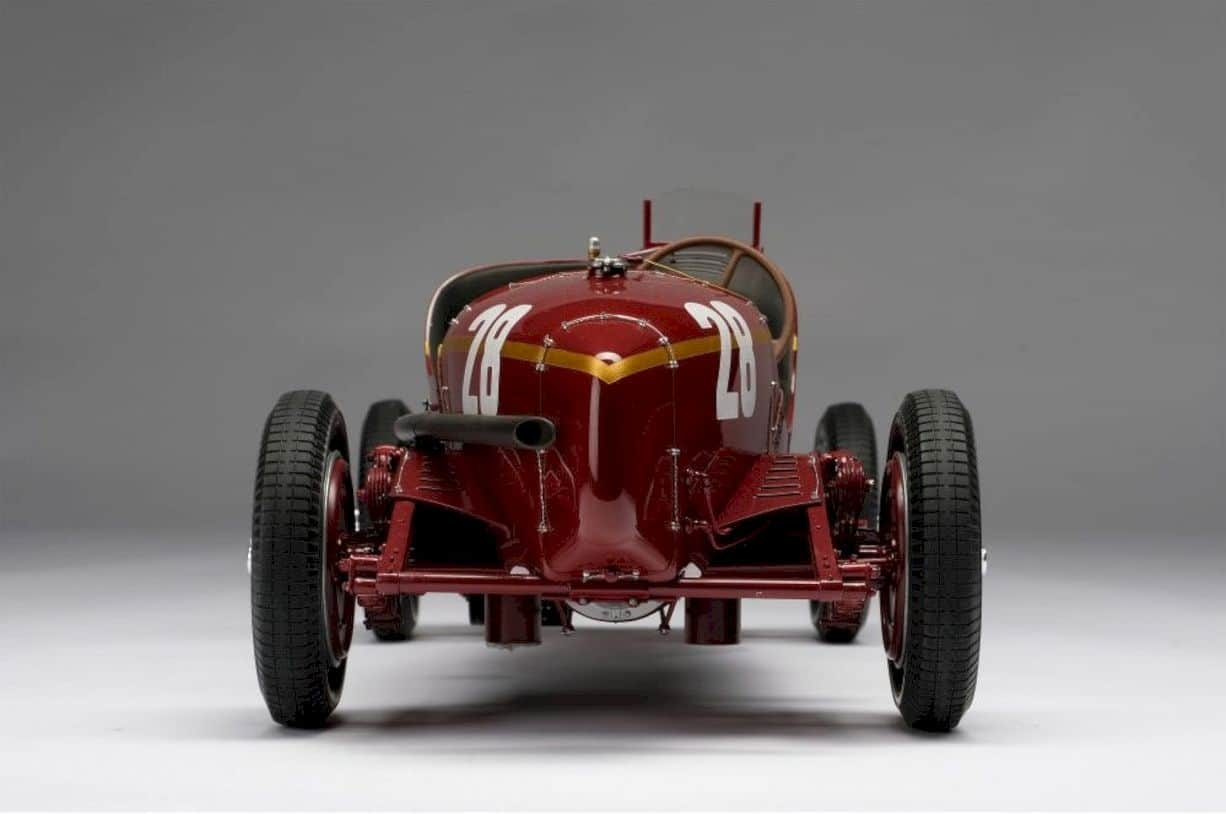 Alfa Romeo 2300 8c Monaco Gp Model Car 4