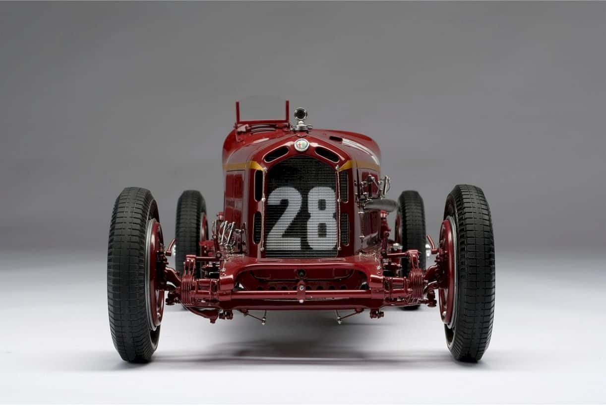 Alfa Romeo 2300 8c Monaco Gp Model Car 5