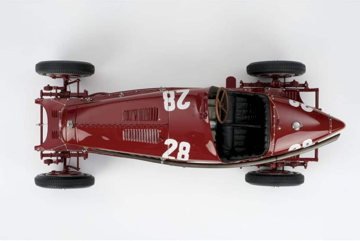 Alfa Romeo 2300 8c Monaco Gp Model Car 6