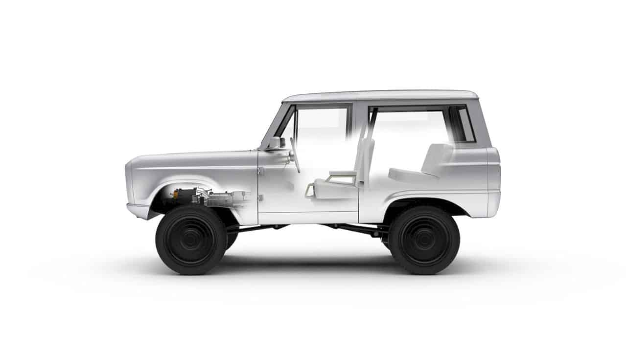 Ford Bronco Classic by Zero Labs: Soul of the Past  + Clean Energy Future