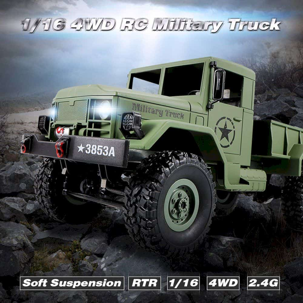 Goolsky Heng Long 4wd Off Road Rc Military Truck 1
