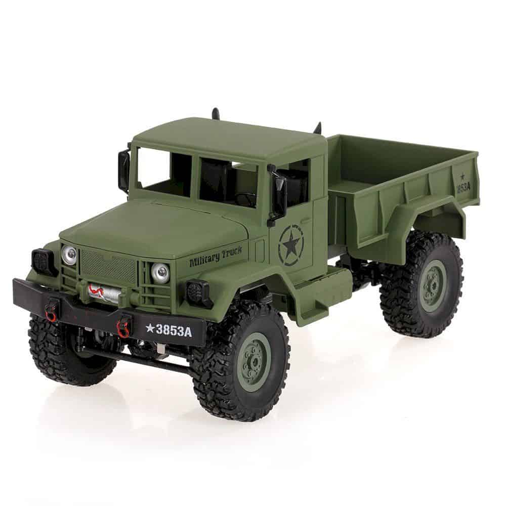Goolsky Heng Long 4wd Off Road Rc Military Truck 2