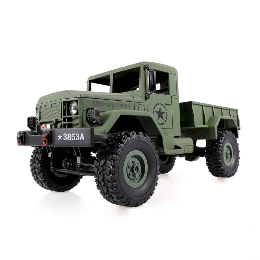 Goolsky Heng Long 4wd Off Road Rc Military Truck 3