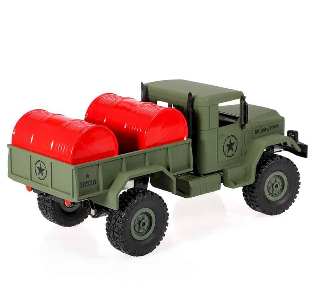 Goolsky Heng Long 4wd Off Road Rc Military Truck 4