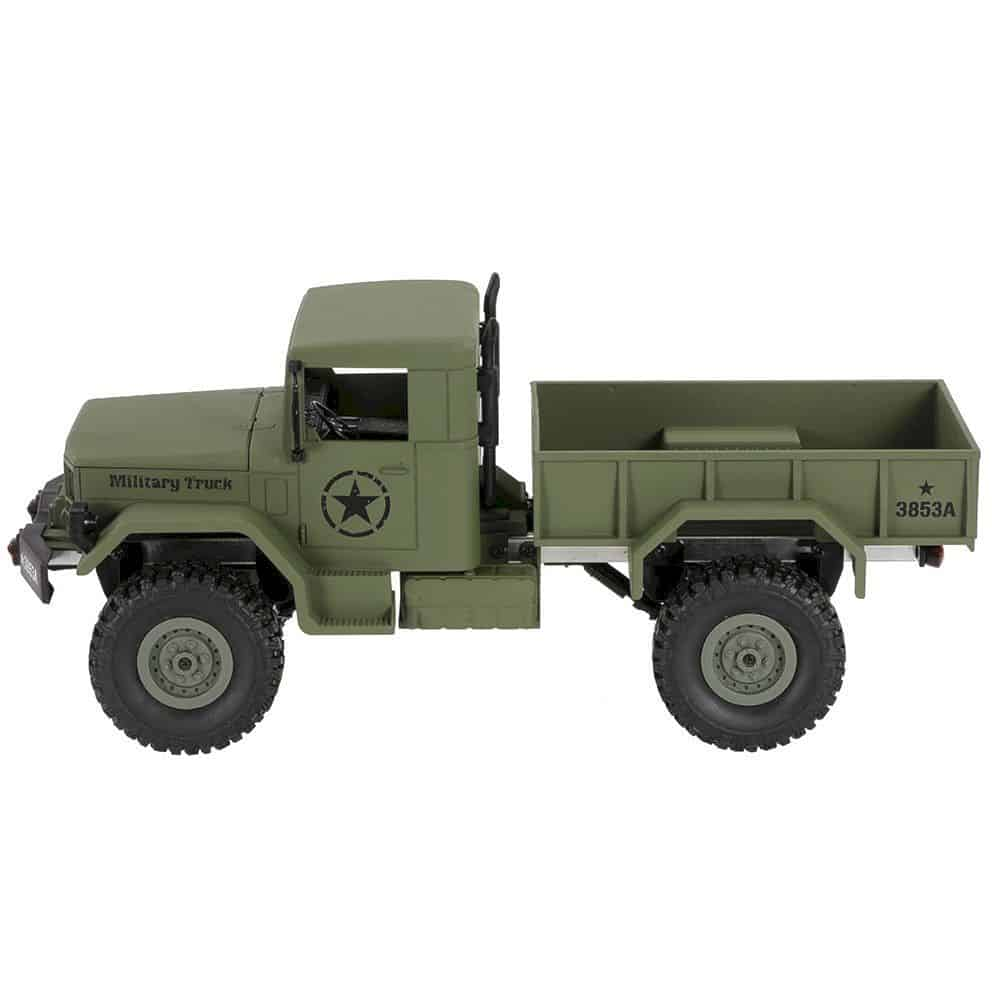 Goolsky Heng Long 4wd Off Road Rc Military Truck 5