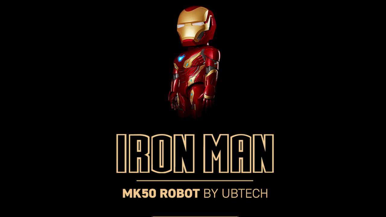 Iron Man Mk 50 Robot By Ubtech 1