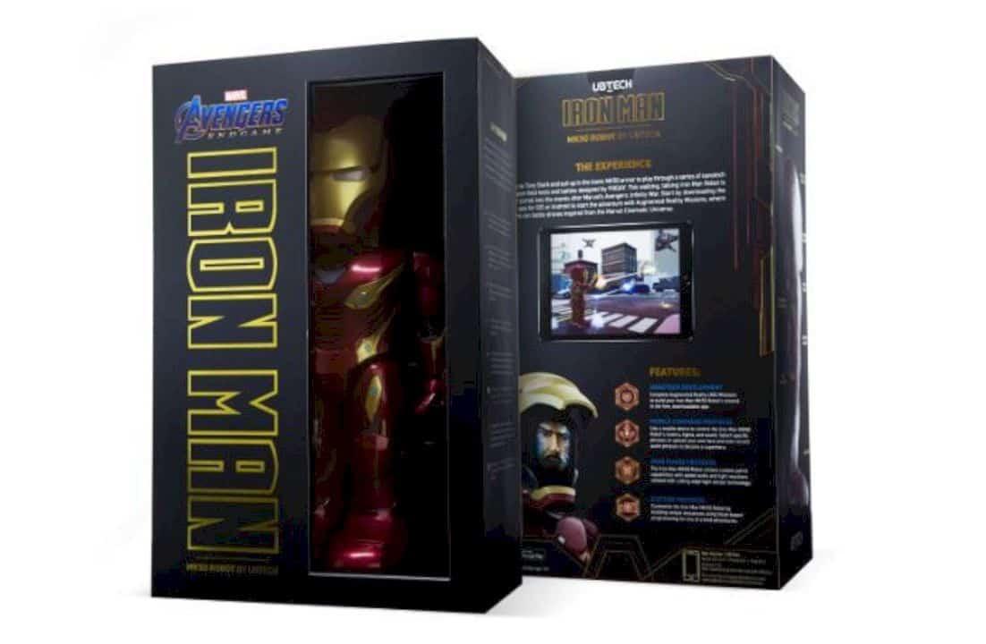 Iron Man Mk 50 Robot By Ubtech 2