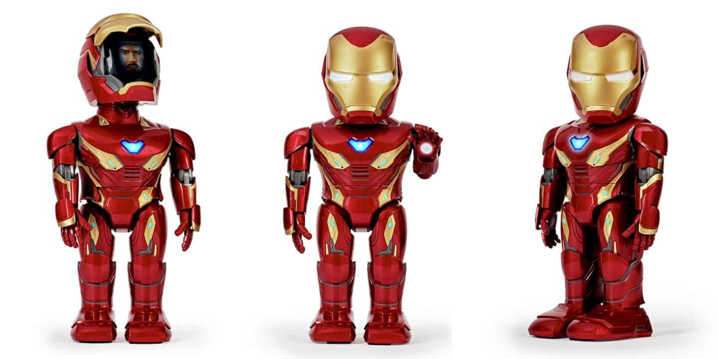Iron Man MK50 Robot by UBTECH: Start the Marvel Adventure with Augmented Reality!